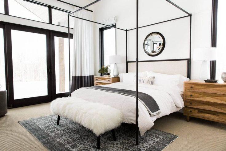Modern Mountain Home, a private residence in Park City, Utah designed by Studio McGee; via @HomeDSGN