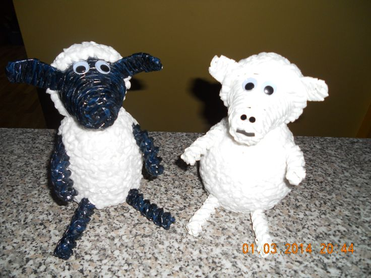 zakázka zněla jedna shaun a bílá ovečka
