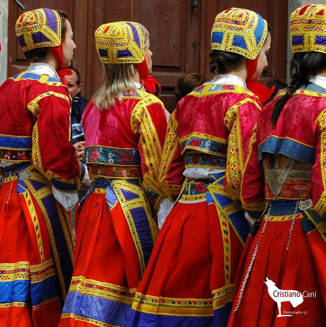 355° Festa di Sant'Efisio costume di orgosolo