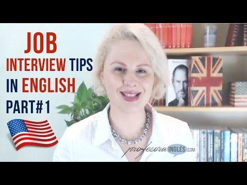 What to say at a Job Interview in English part1 Que decir en una entrevista de trabajo en inglés