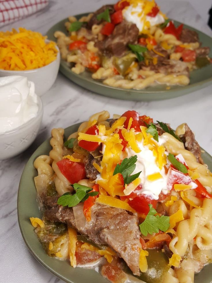 Pressure Cooker Steak Fajitas Image