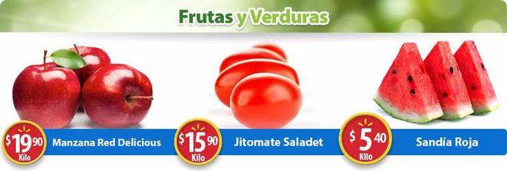 Aprovecha las ofertas en carnes, frutas y verduras que encontrarás este Martes de Frescura Walmart 19 de septiembre 2017, con los siguientes precio...
