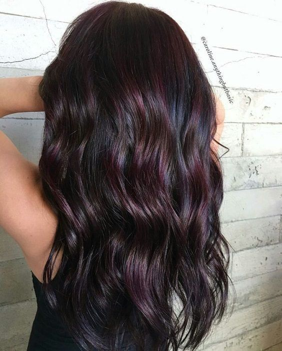 Dark Winter Hair Color All About Celebrities