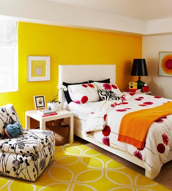Bright and cheerful design 13 39 laurel mt pinterest for Bright orange bedroom ideas