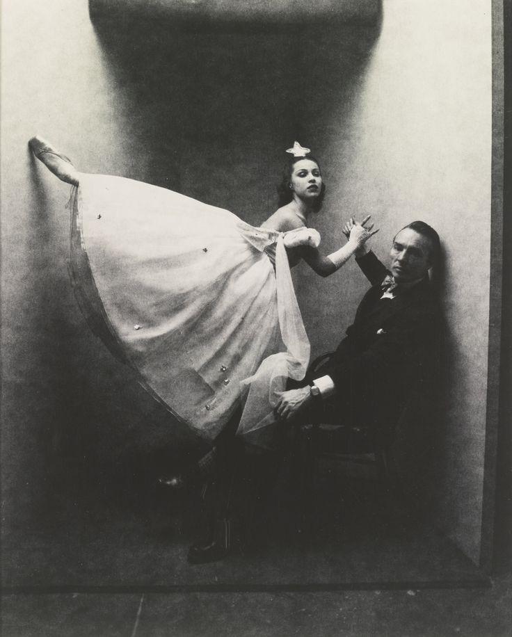 Irving Penn Photo ~ George Balanchine & Maria Tallchief ~1947