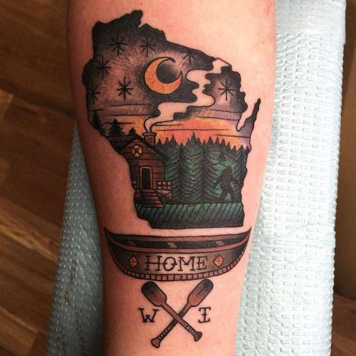 wisconsin tattoo - Google Search