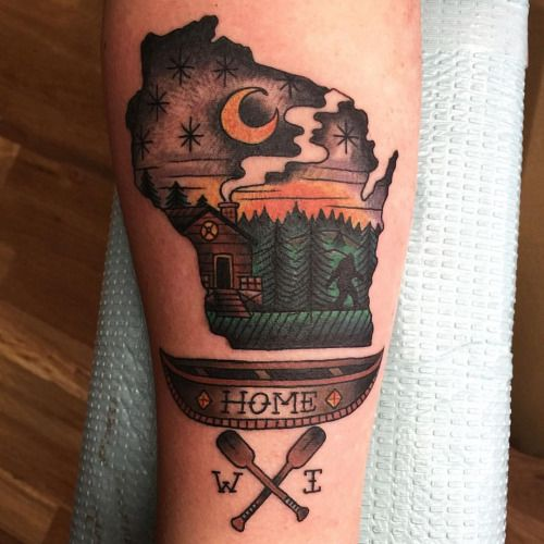 wisconsin tattoo - Google Search