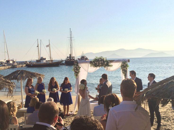 Australian Wedding in Naxos - Greek Weddings