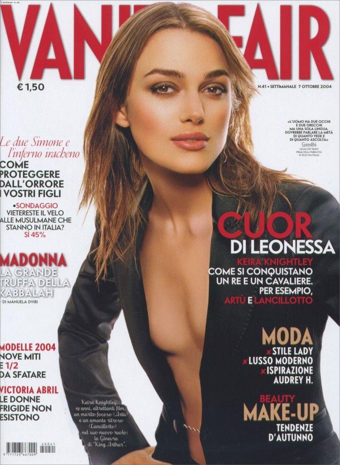 Sexy cover per Vanity Fair con protagonista Keira Knightley su cui è possibile fare diversi fotomontaggi a partire dalla bellezza della protagonista.