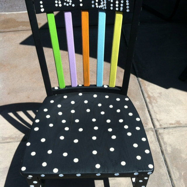 Teacher Chair--I am looking for a chair to paint, if anyone has any!! :)