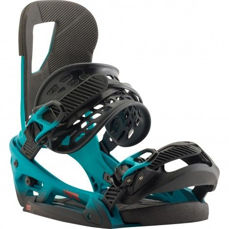 Burton Cartel EST snowboard bindingen teal fade