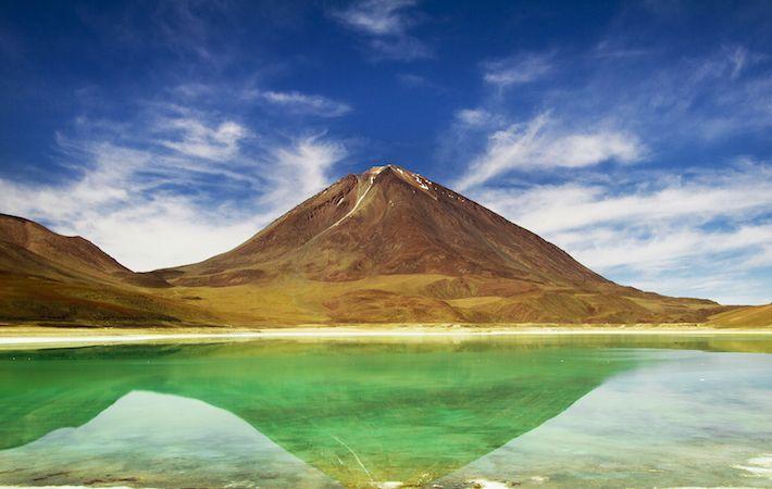 Jour 12 : Vous poursuivez votre route vers la resplendissante Laguna Verde..