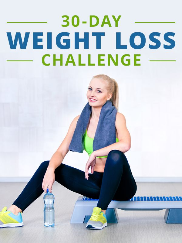 30 day weightloss challenge diet