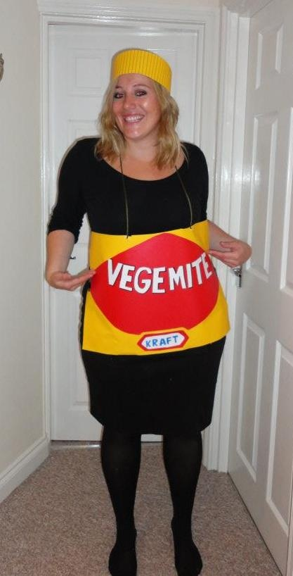 Vegemite fancy dress