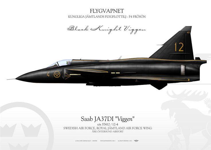 SWEDISH AIR FORCE . FLYGVAPNET ROYAL JÄMTLAND AIR FORCE WING . KUNGLIGA JÄMTLANDS FLYGFLOTTILJ F4 FRÖSÖN - ÅRE ÖSTERSUND AIRPORT