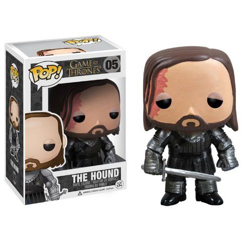 Game of Thrones 10cm Pop Vinyl - - The Hound: Amazon.co.uk: Toys & Games