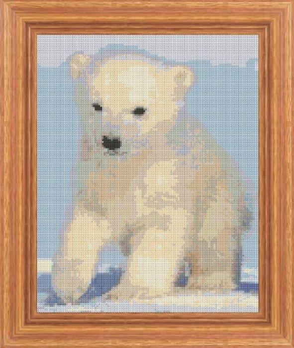 Журналы по вязанию и рукоделию.: Полярный белый медведь