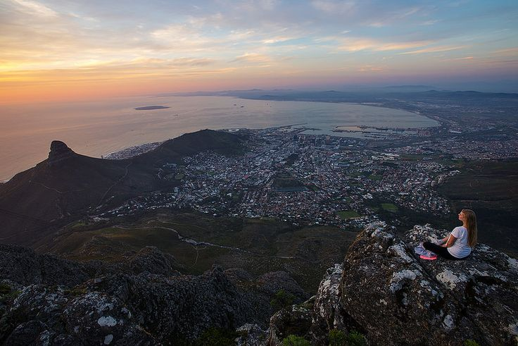 Cape Town, view from Table Mountain.