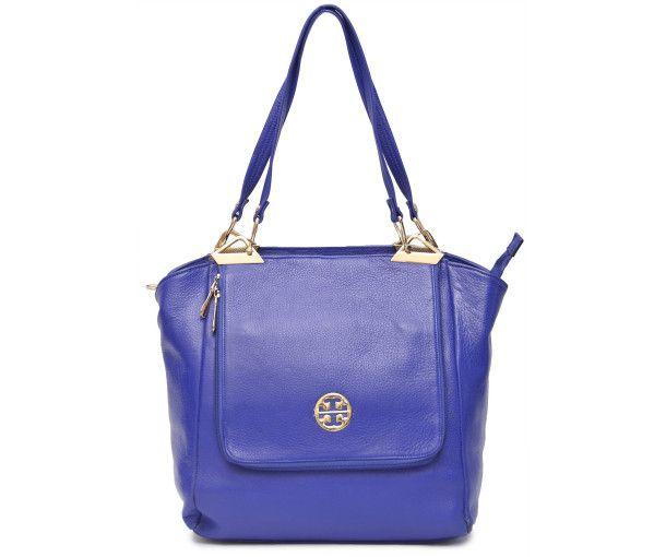 BUY #DESIGNER BLUE #LEATHER #HANDBAG: The beautiful Designer piece in Royal Blue crafted in Genuine Leather with Golden finish metal pieces and Designer Logo Buy #HandbagsOnline at BeltKart http://bit.ly/1IYIJ06