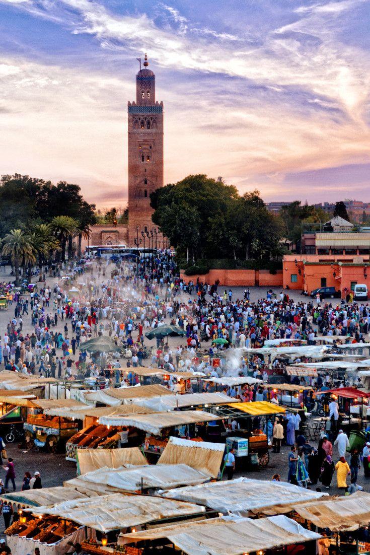 Marrakech: La place Jemaa el Fna en tête du Top 25 des plus beaux monuments dAfrique selon le site TripAdvisor