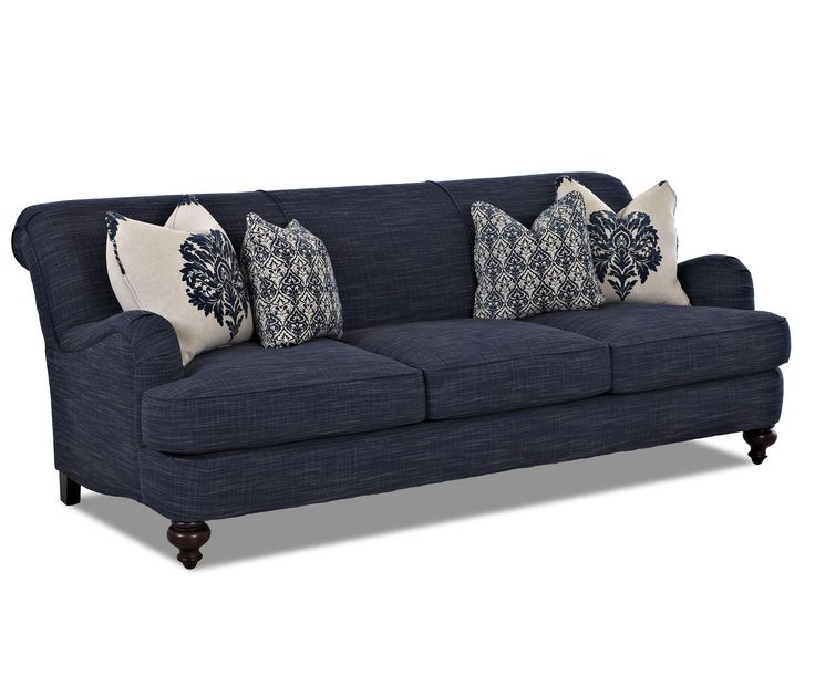 17 best images about color obsession navy blue on pinterest hale navy upholstered sofa and. Black Bedroom Furniture Sets. Home Design Ideas