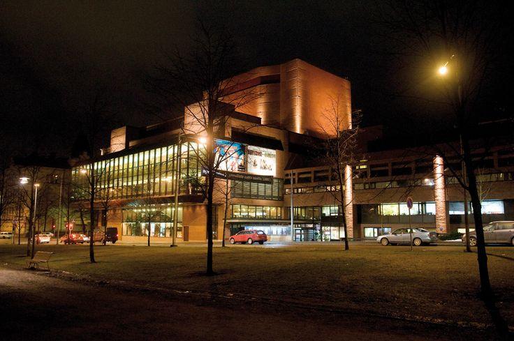 A big local theatre in Tampere, TTT (Tampereen Työväen Teatteri).