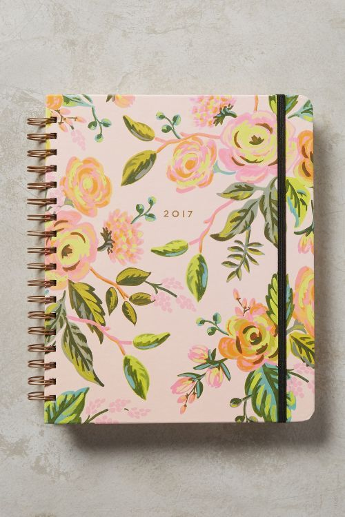 Graceful Garden 2017 Planner