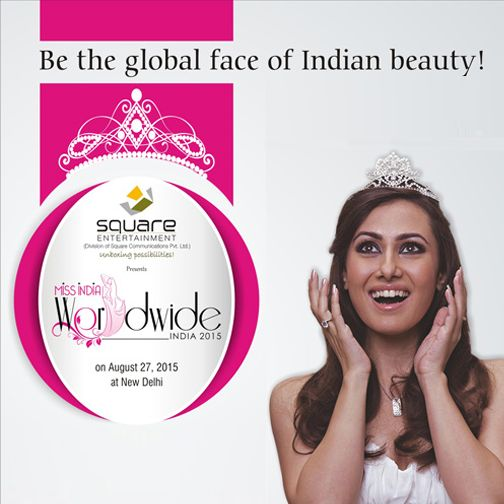 You can be the Global face of Indian Beauty ! Register today: http://www.squaremissindia.in/registration/