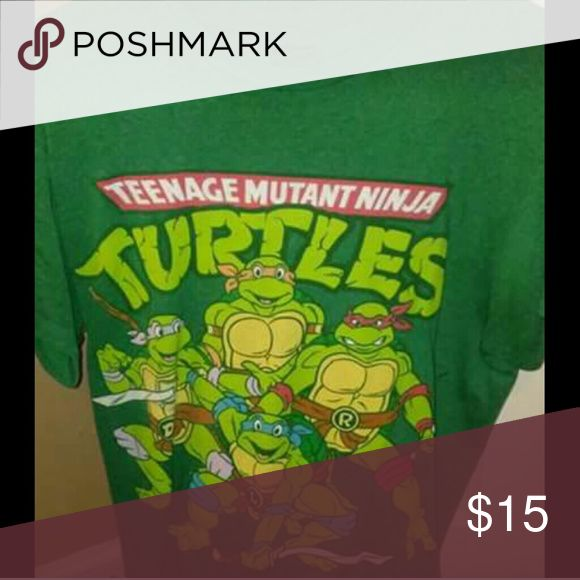 Ninga turtle T-shirt Excellent condition jcpenney Shirts Tees - Short Sleeve