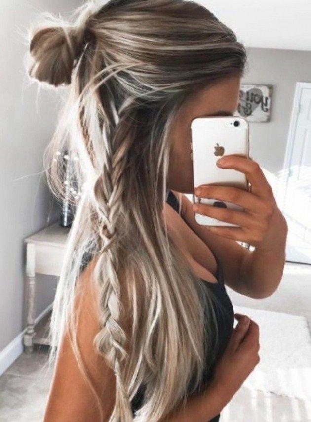 """Résultats de la recherche pour """"long hair color"""" #Easyhairstyles"""