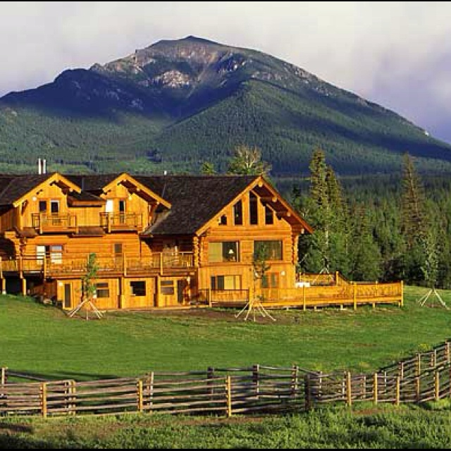Award Winning Log Home Builders: My Dream Cabin On Pinterest