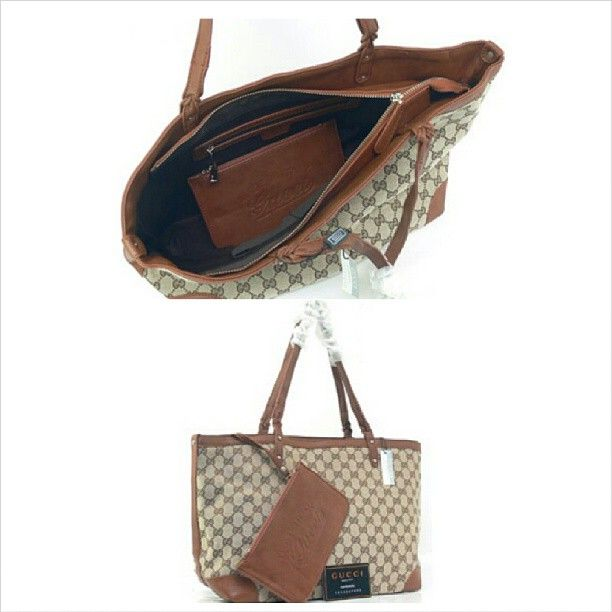 Siap jadi koleksi kalian dear.. Gucci Craft Tote Canvas (Camel) (L45 x T26) - Rp. 300.000 #bag #woman #branded #gucci #fashion #favorite #import #quality #recommended #stuff #tascewek #tasfashion #murah #jual #jualan #tas #iklan #iklan_instagram #iklanpromosi #promosi_id - @toserba_fashion- #webstagram