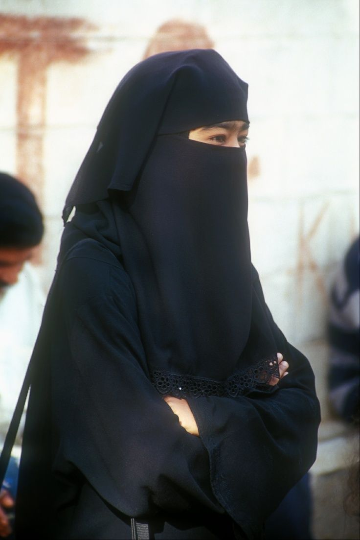 Two Layer Niqab with Abaya | HIJABLOVE | Pinterest | Niqab ...