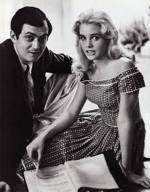 Stanley Kubrick reads the script for Lolita (1962) with Sue Lyon