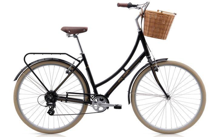 Polygon Sierra Oosten - 8 Speed Ladies Cruiser / City Bike - Black