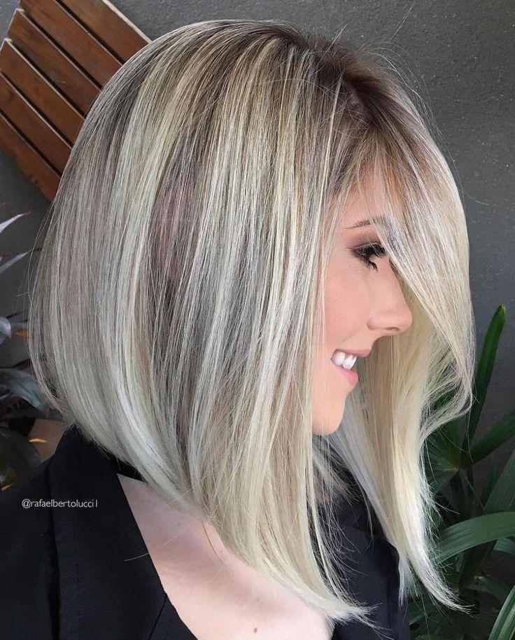 Best 25+ Long Angled Haircut Ideas On Pinterest