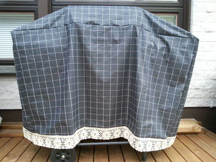 DIY grill cover