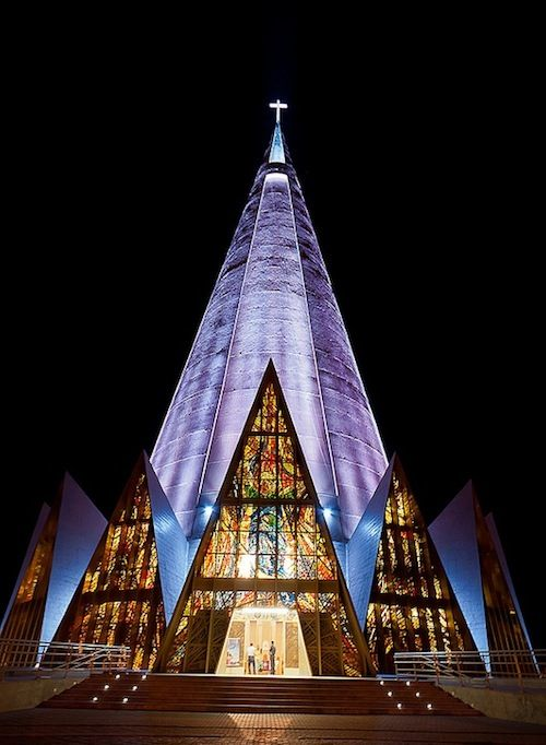 The Cathedral of Maringá/Cathedral-Basilica of our Lady of Glory, Maringá,Brazil - José Augusto Bellucci