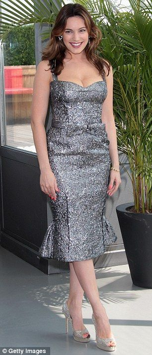 stunning silver dress