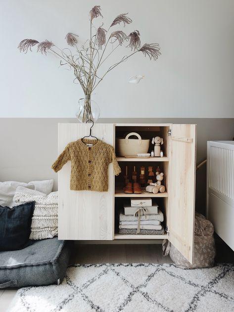 Kledingkast Hangkast Ikea.Ivar Kast Ikea Ikea Hack Diy Babykamer Inspiratie En Styling