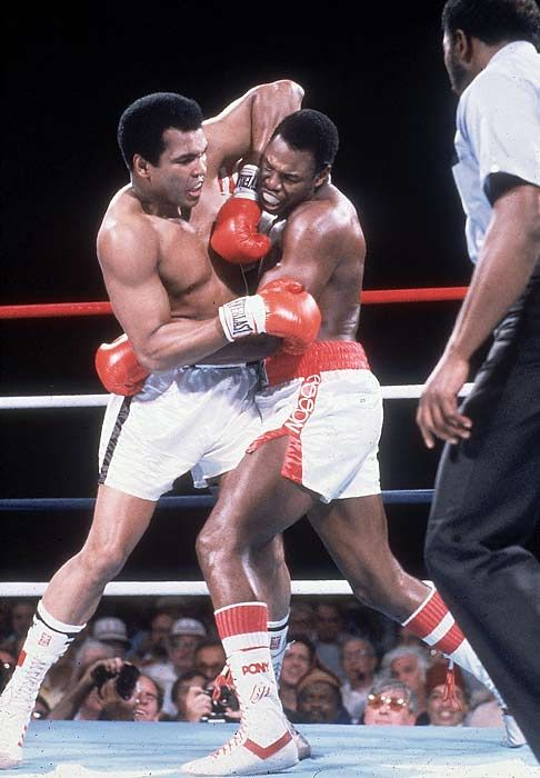 After another dismal performance by Michael Schumacher at the Turkish Grand Prix, EJ referred to Muhammad Ali's comeback fight against Larry Holmes back in 1980, which 'The Greatest' lost out TKO...