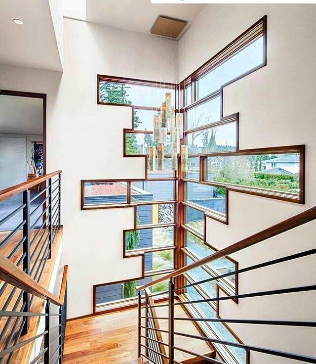 Bom Dia! E q a luz da alegria e o brilho das novas  oportunidades iluminem a sua vida!  #Repost @design_interior_homes with @repostapp  Hanna Park Residence by Prentiss Balance Wickline Architects.  Location: Edmonds #Washington #USA