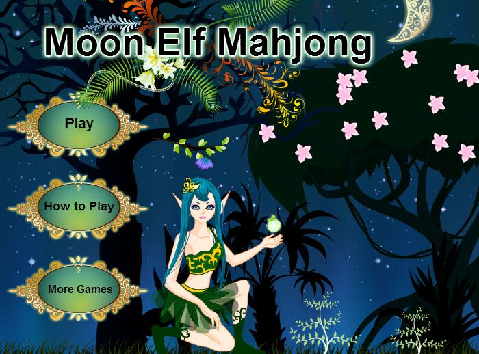 Play #MoonElfMahjong. Get into the Mahjong madness with a magical Moon Elf deck!