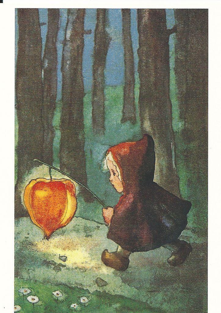 "Waldorf Martinmas Festivals & Holidays inspiration Chinese Lantern."" Mili Weber [Swiss painter and illustrator 1891-1978]"