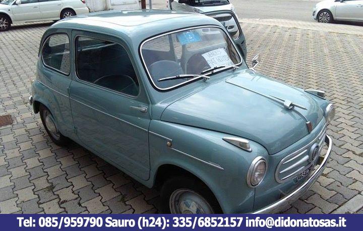 EXTRA | Fiat 600 anni '50: Scopri il fascino del Vintage