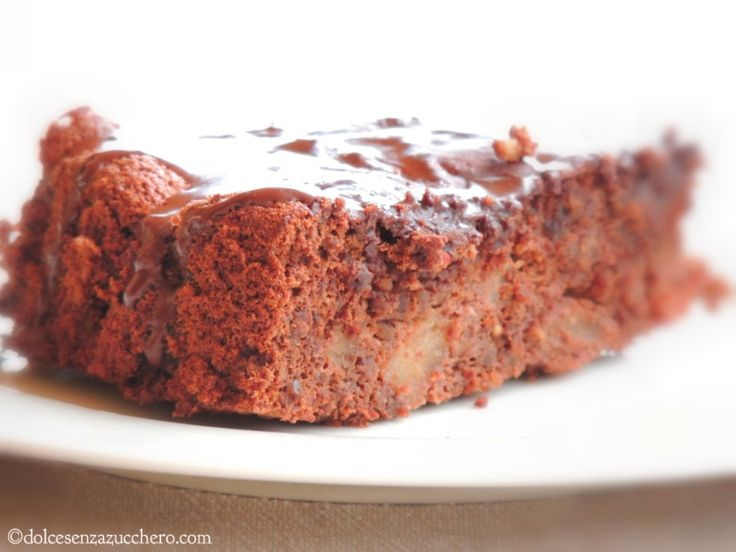 Torta Cioccolato mandorle e Pere (6)