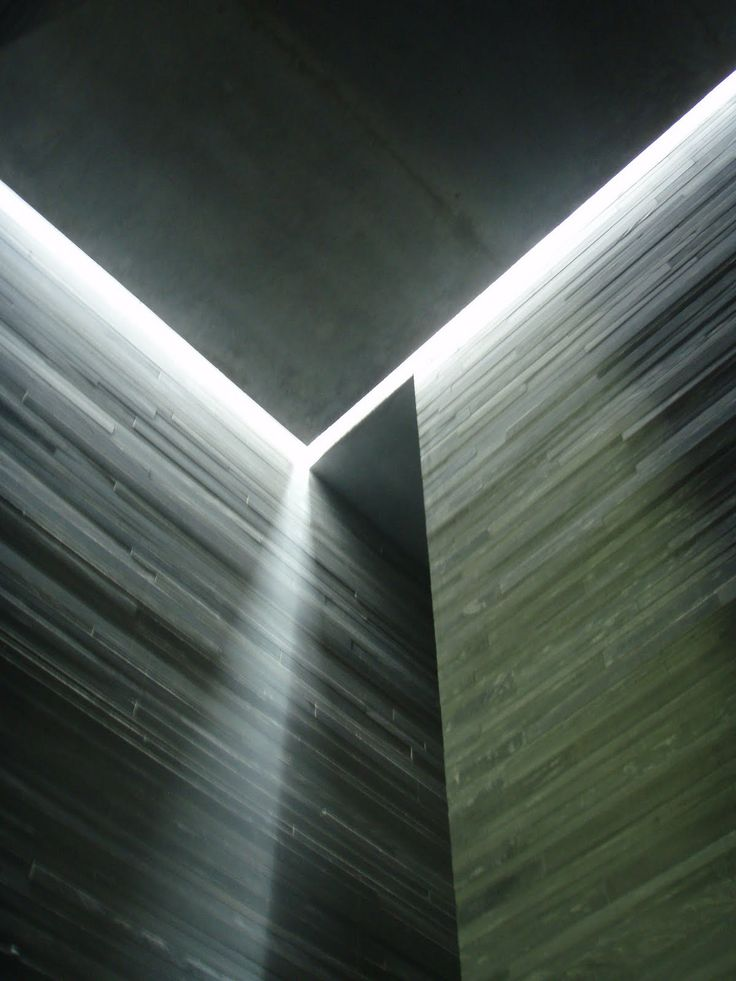 ARCHITECTURE |  DETAILS | Photo Credit: Unknown. (please let me know orignal source so that I can include appropriate credit) Adore the work of #PeterZumthor. Visiting #TheThermeVals in person trully changed my life, a whole new born appreciation for attention to #details.