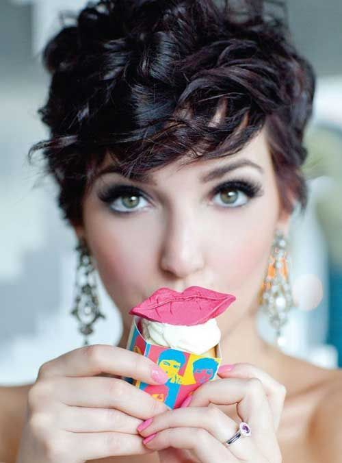 how to style a pixie cut with thick hair 17 best ideas about curly pixie on pixie 7162