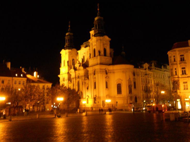 The soft lights of Prague