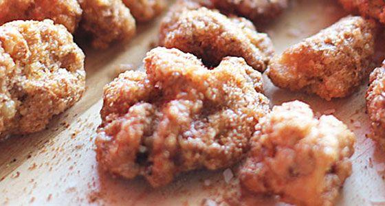 Sweet & Spicy Walnuts | Recipe